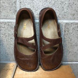 ALEGRIA Dayna PRO Carolina Brown Leather Size 37
